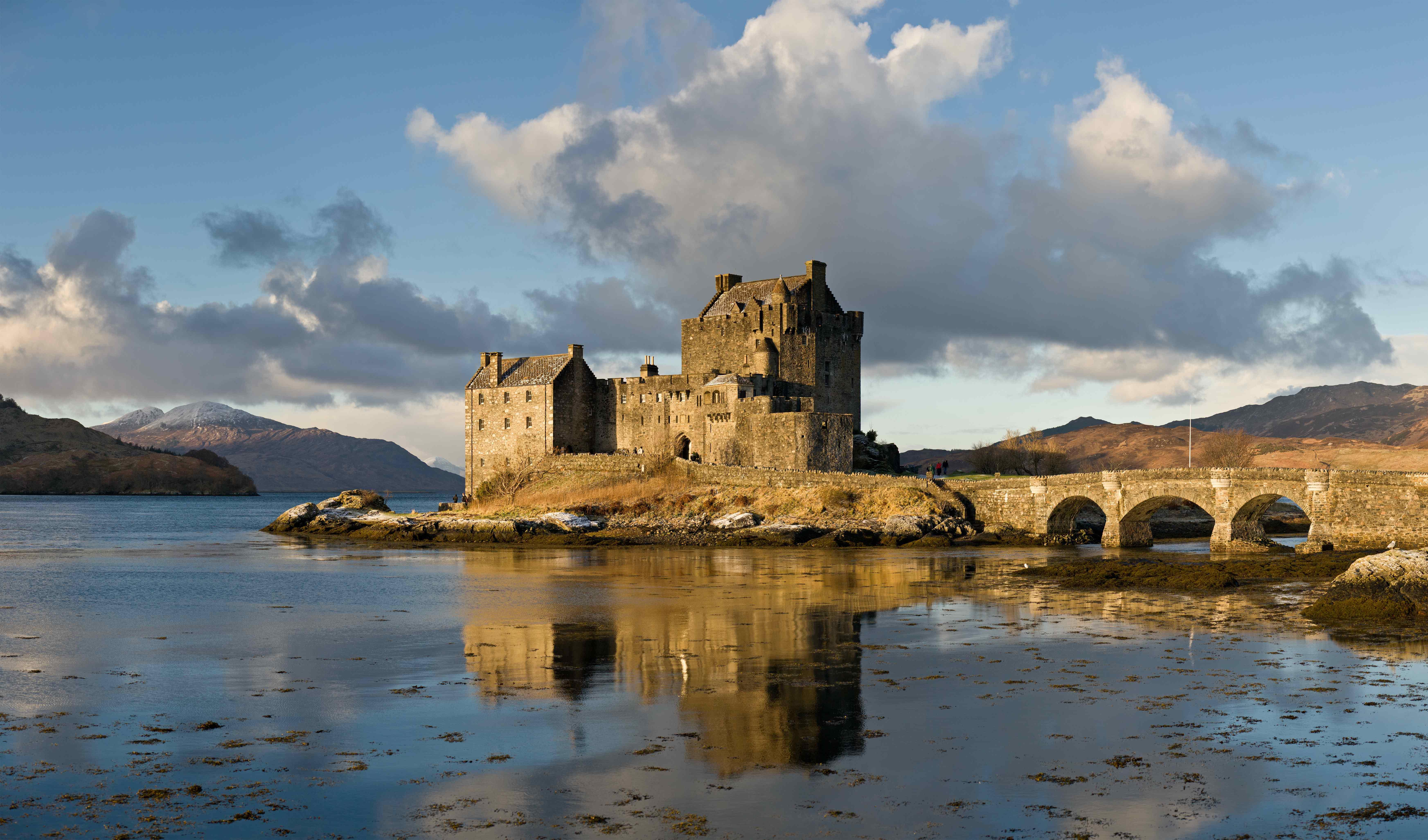 Eilean Donan Castle am Loch Duich Kopie