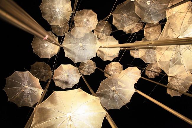 Lightened Decorative Umbrellas