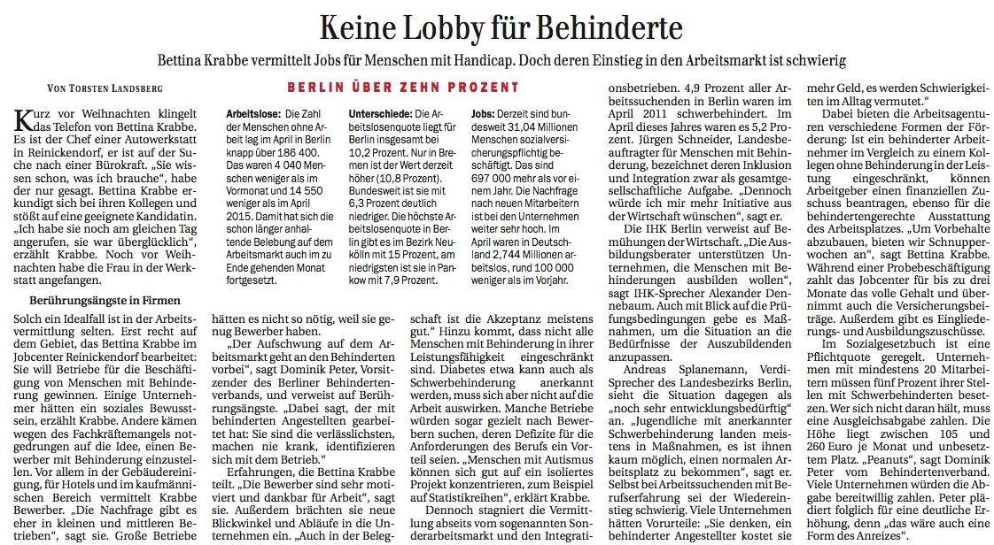 Keine Lobby